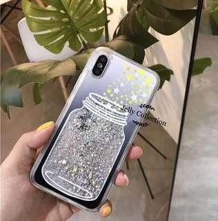許願樽流沙星星iPhone Case