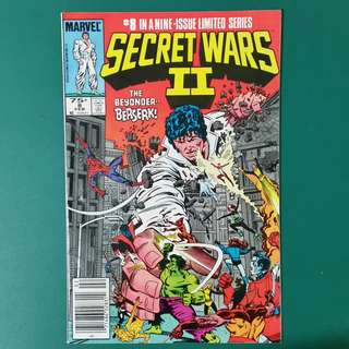 Secret Wars II No.8 comic