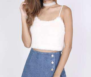 MDS White Crop Top