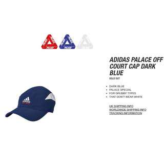 Palace x Adidas Tennis Hat (Navy Blue)