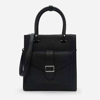 CHARLES & KEITH_信封結構設計托特包_STRUCTURED FRONT FLAP TOTE