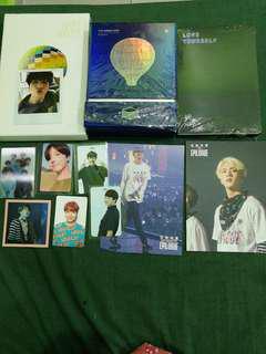 WTS/WTT BTS photocard and album