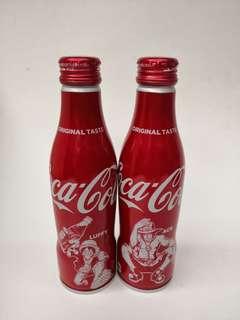 Coca Cola海賊王可口可樂紀念鋁樽