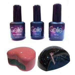 🚚 🌸 [SALE] Gelle Soak off gel polish and top gel 15ml