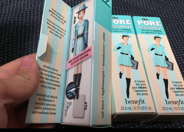 全新 Benefit Porefessional face primer 毛孔細緻霜 22ml