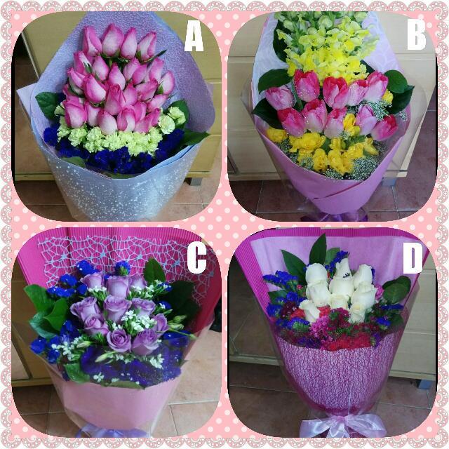 😘💐鮮花花束🌸  Fresh Flower Bouquet