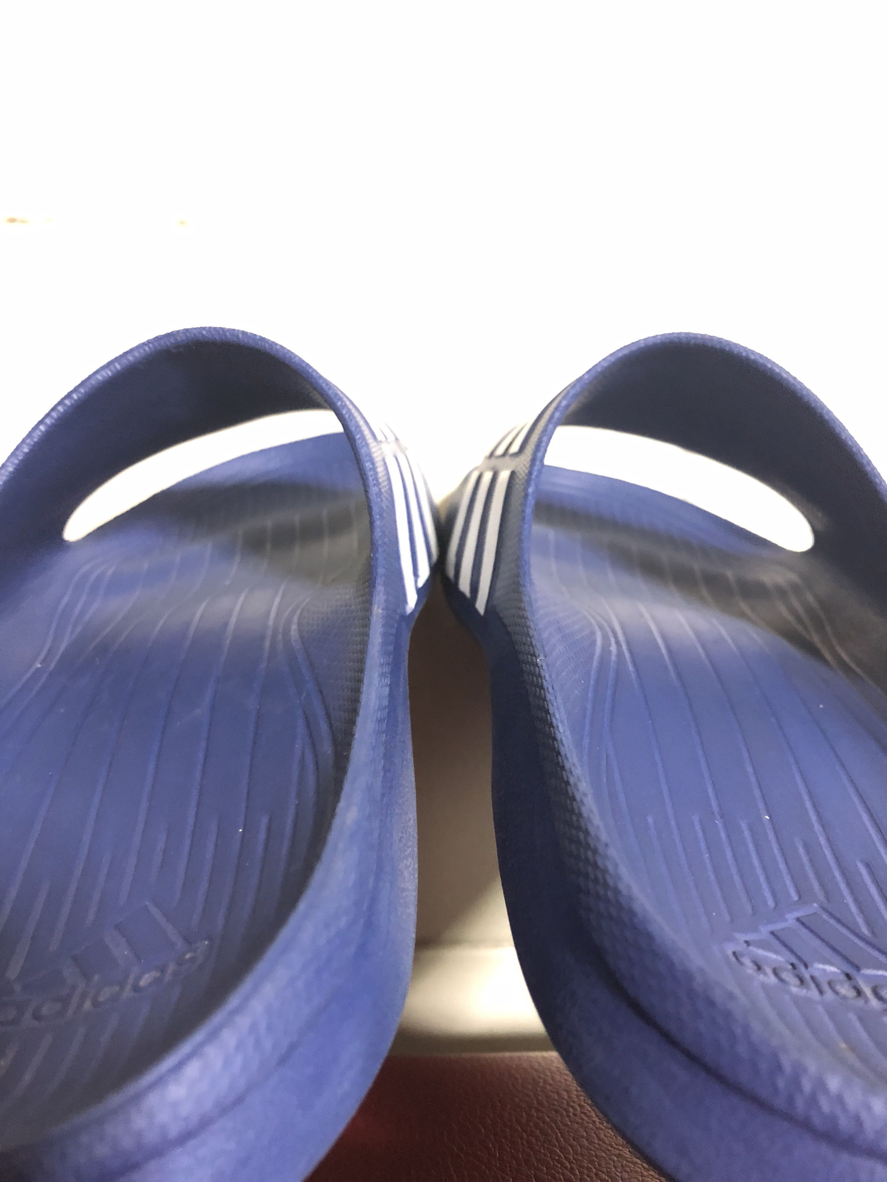 6c58dd69e Adidas Duramo Slides (Blue White)