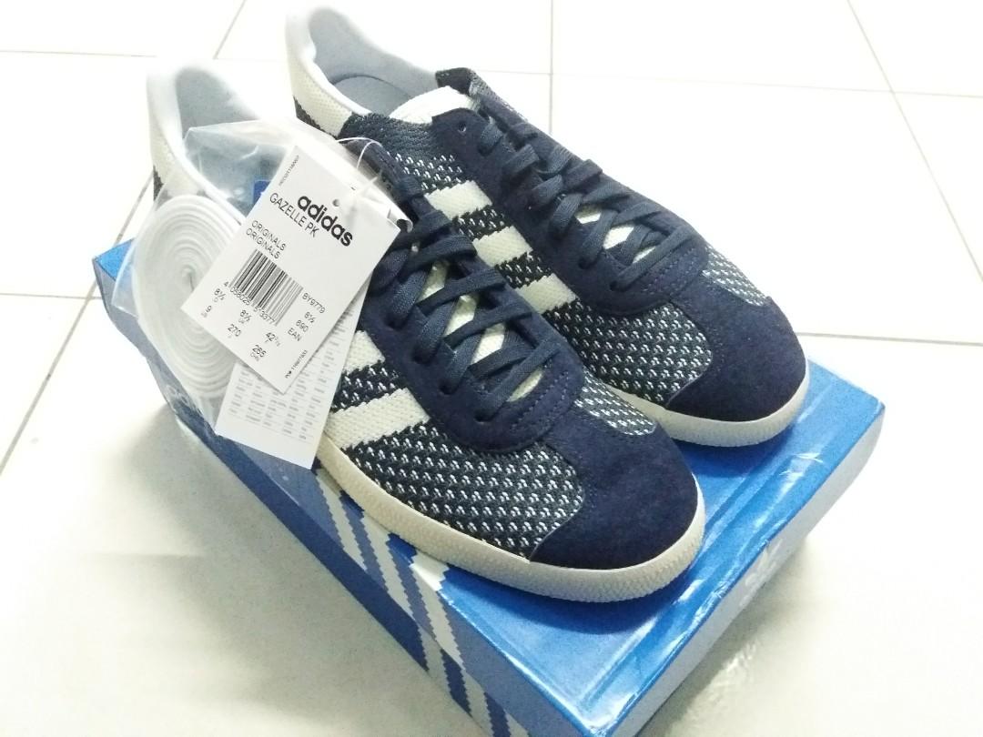 buy popular d3d89 ab0f4 Adidas Gazelle Primeknit Nemesis, Men s Fashion, Footwear, Sneakers ...