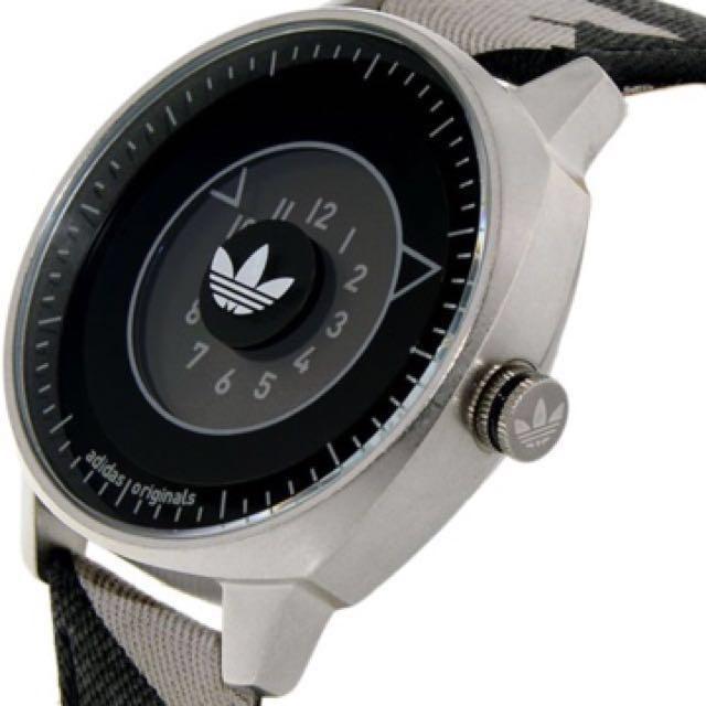 Adidas hombre 's San Francisco adh3149 reloj de cuarzo de cuero multicolor