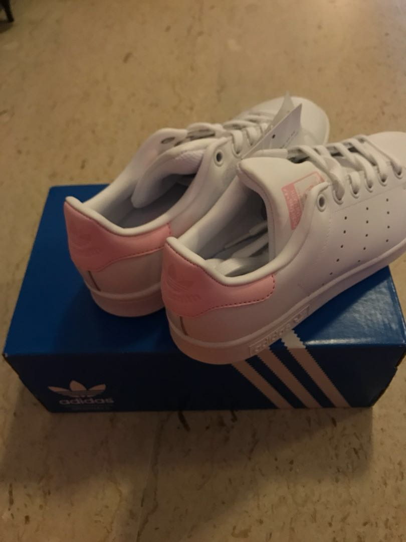 9bde3c96c91412 Adidas Stan Smith Baby Pink ladies