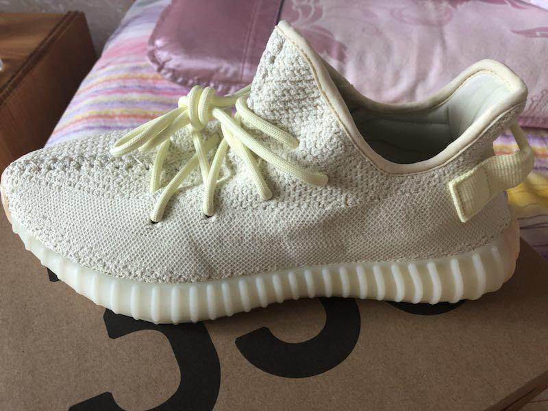 c9cda1a4b Adidas Yeezy Boost 350 V2 butter Uk8
