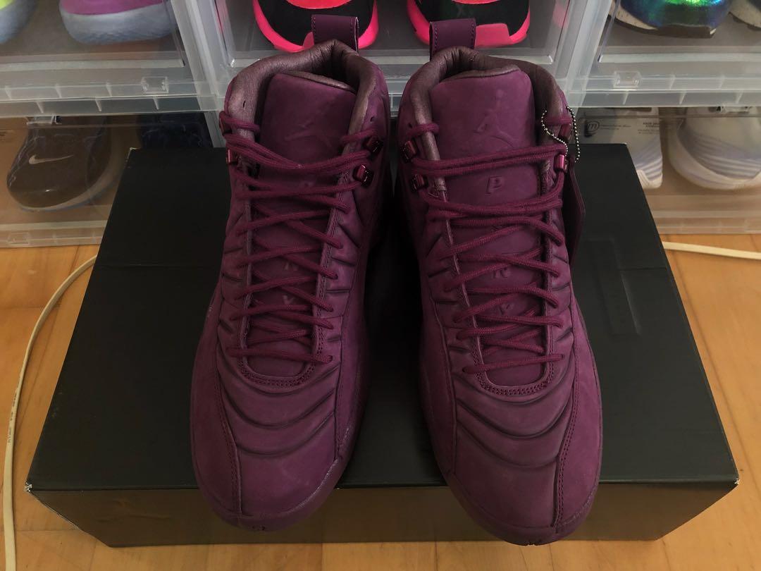 919edd082f4 Air Jordan 12 PSNY Bordeaux US10.5, Men's Fashion, Footwear, Sneakers on  Carousell