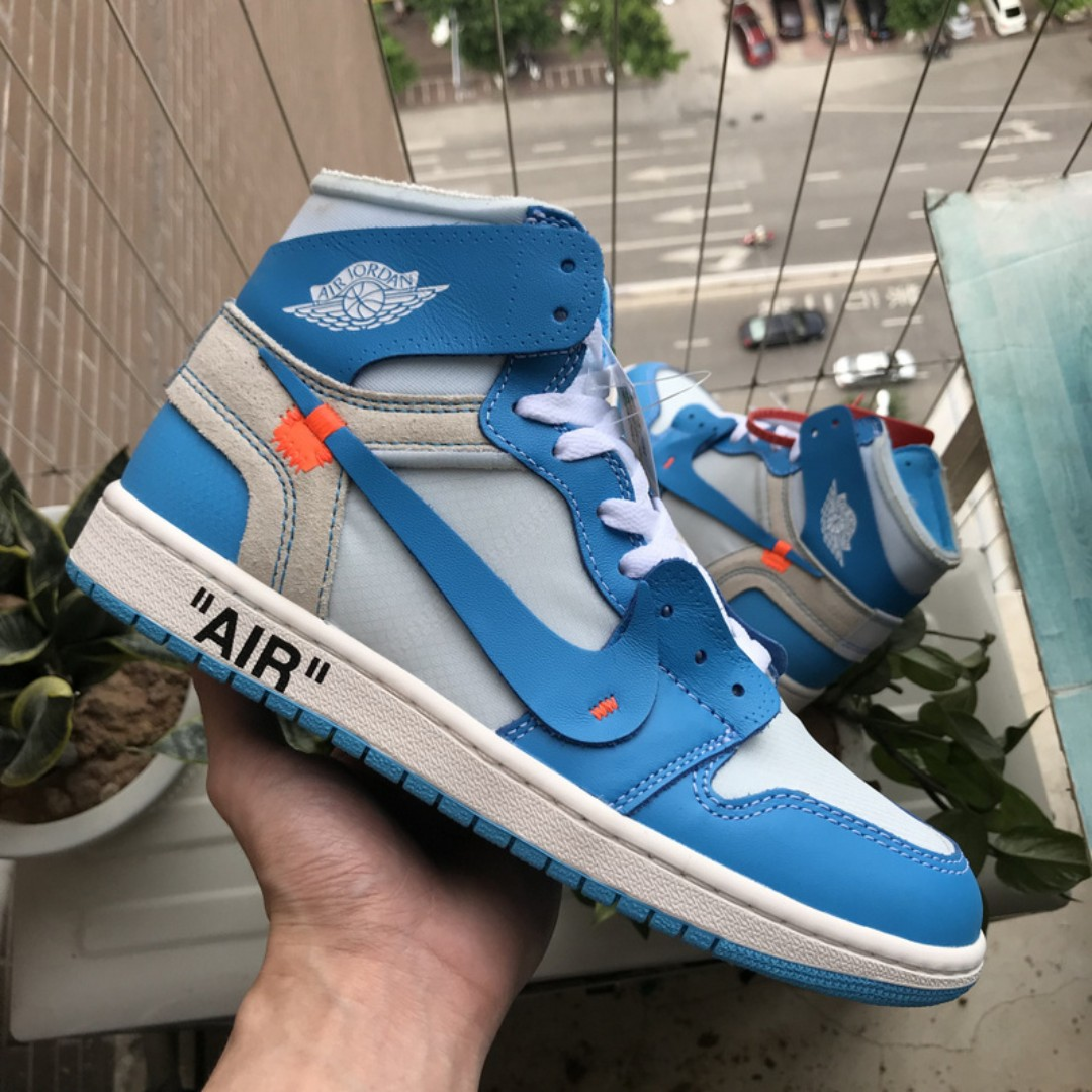 1416fdc79d2f31 Air Jordan 1 Off White UNC