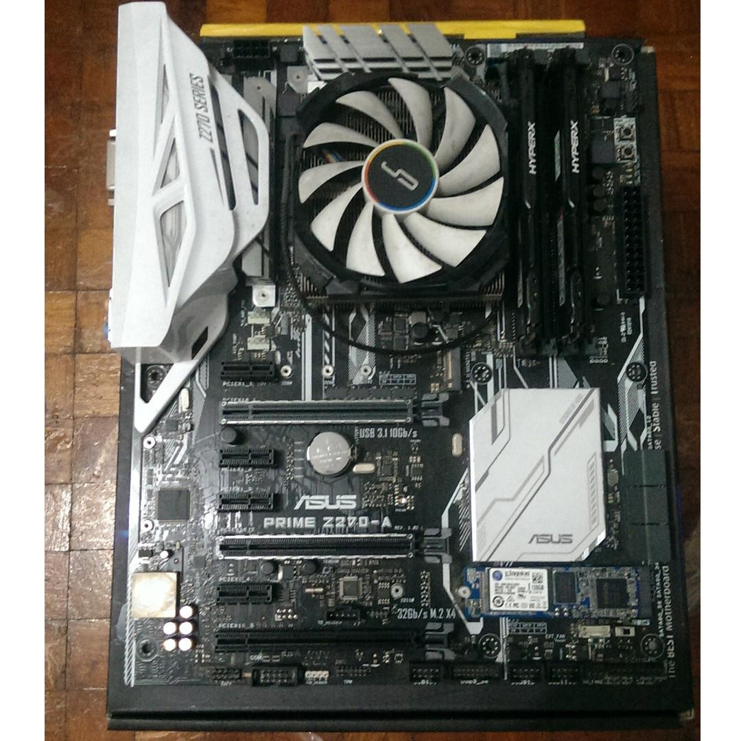 ASUS PRIME Z270-A Motherboard on Carousell