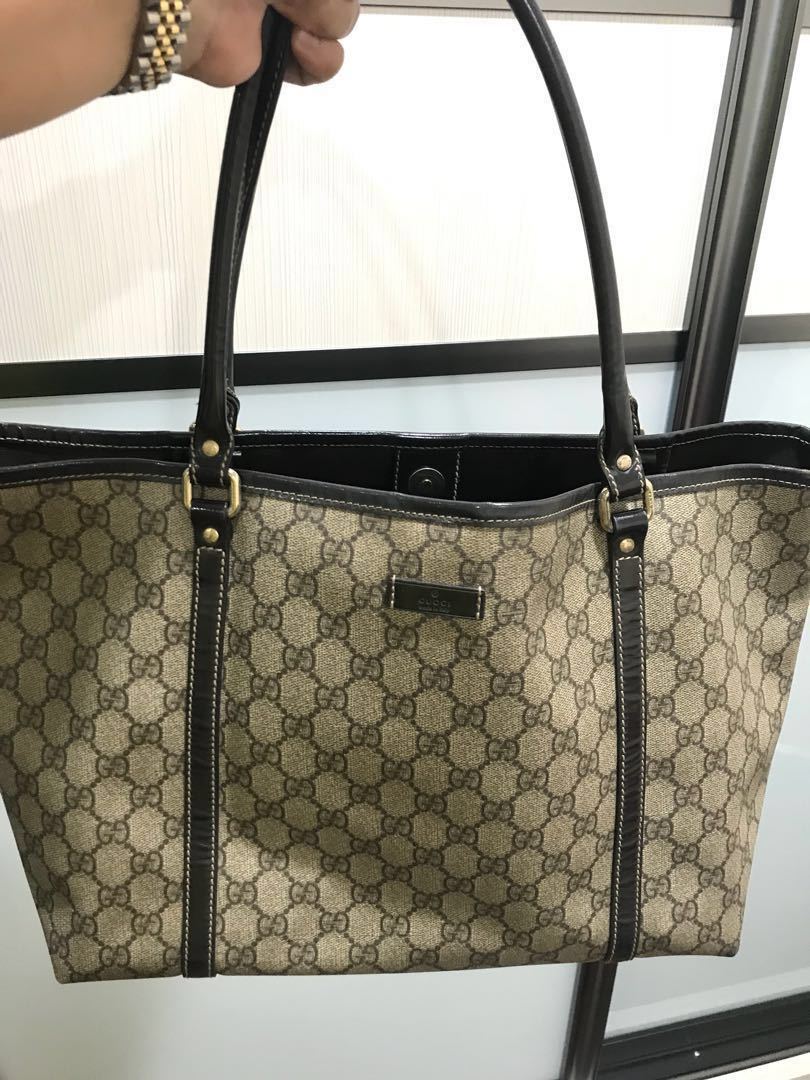 bea846751 Authentic preloved Gucci tote bag, Luxury, Bags & Wallets, Handbags ...