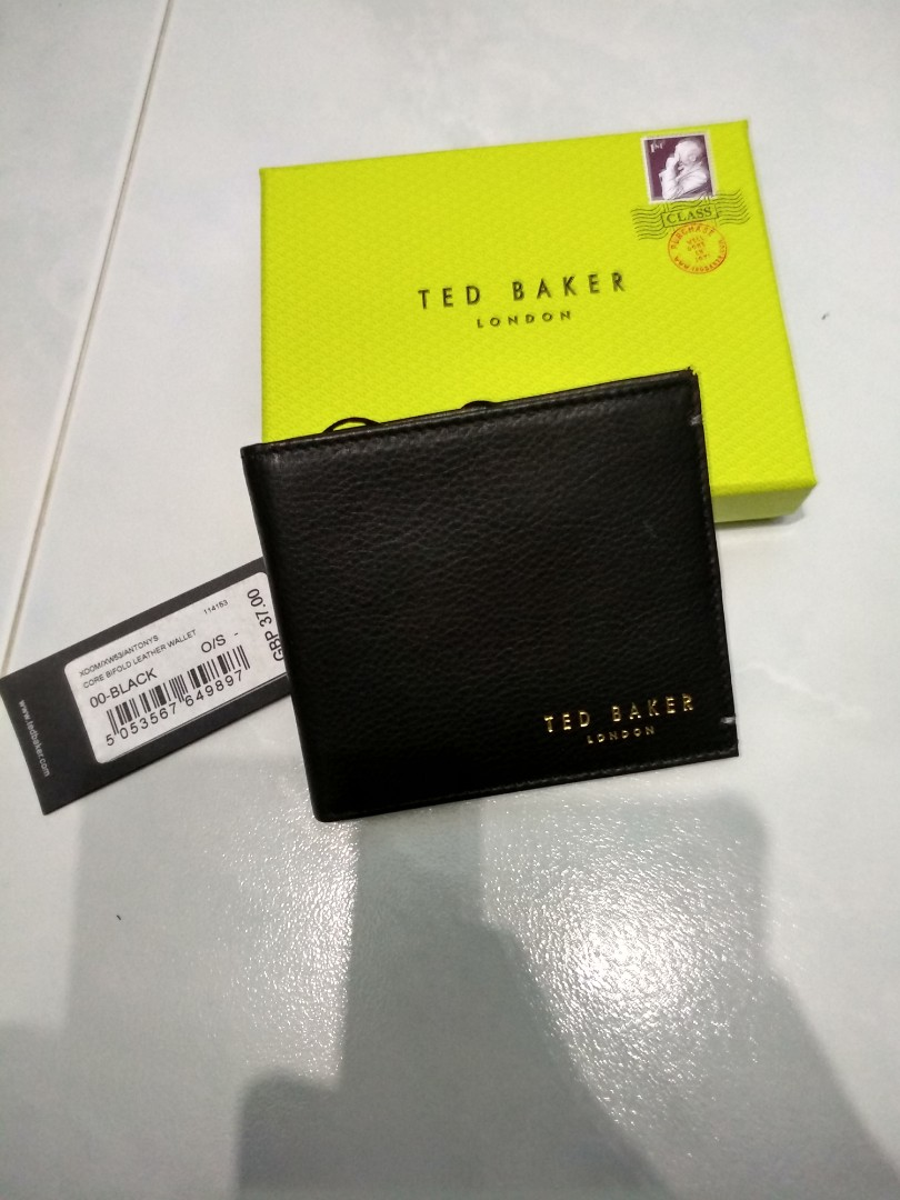 53d94a9a102a76 Bnib ted baker antony leather billfold wallet black mens jpg 810x1080 Ted  baker mens wallets