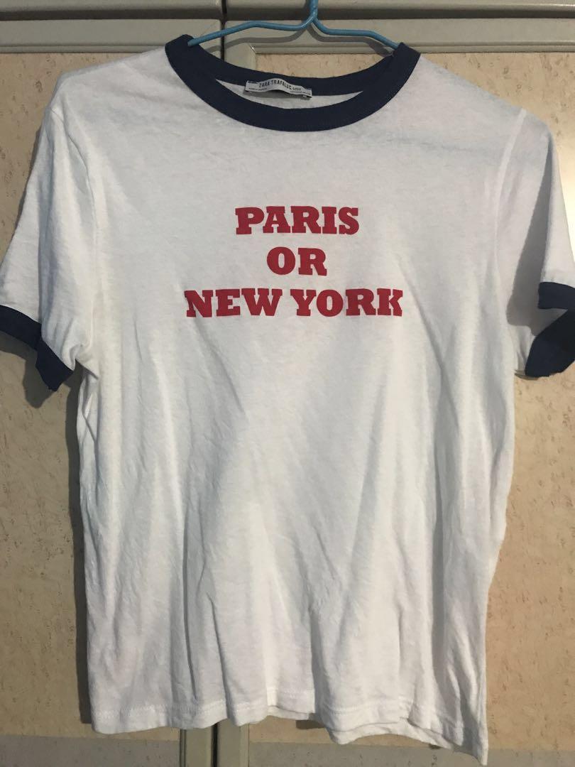 Pull Bear By Zara Mens Printed T Shirt Grey Size Xl New