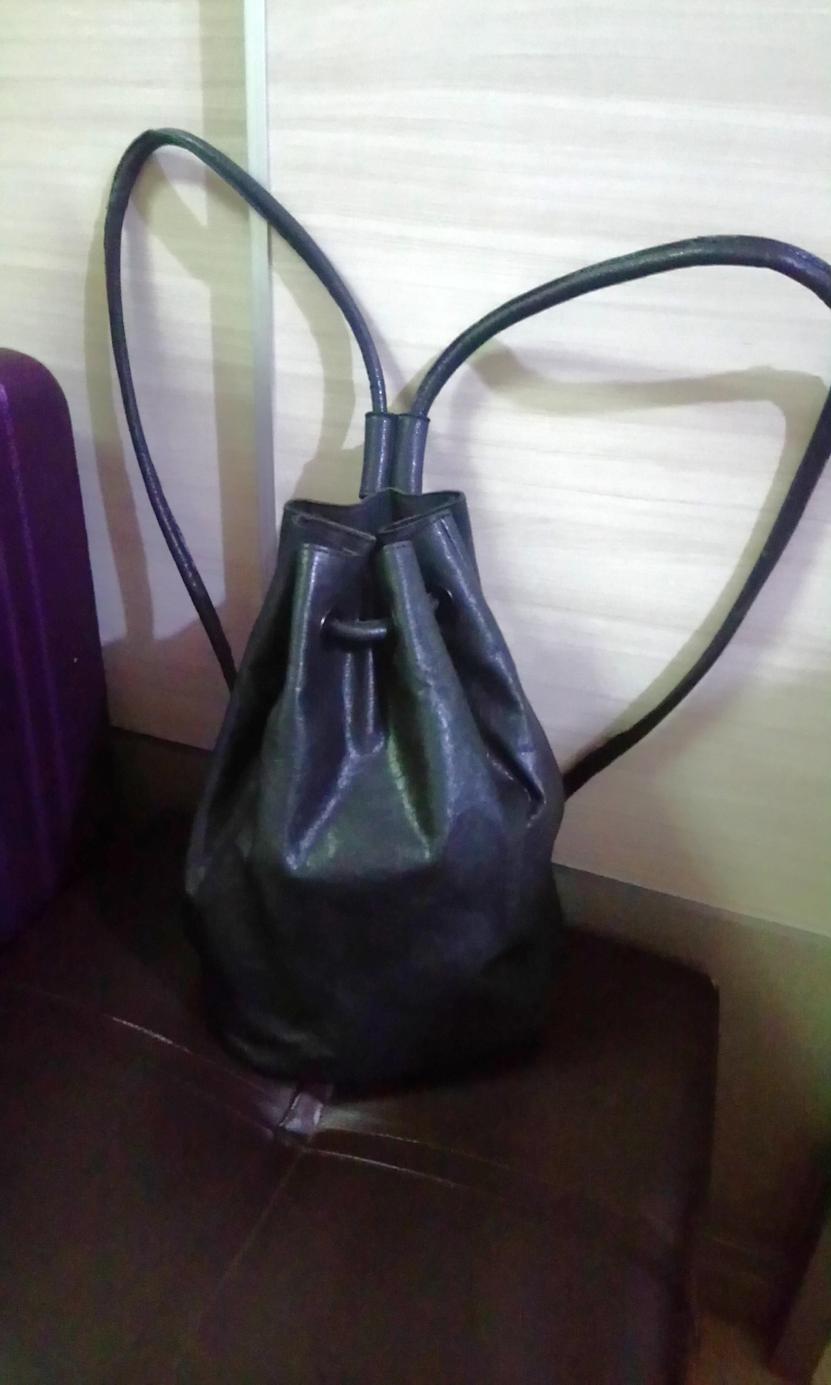 Bucket backpack Bag Medium-Genuine leather ef2d700f53b0f