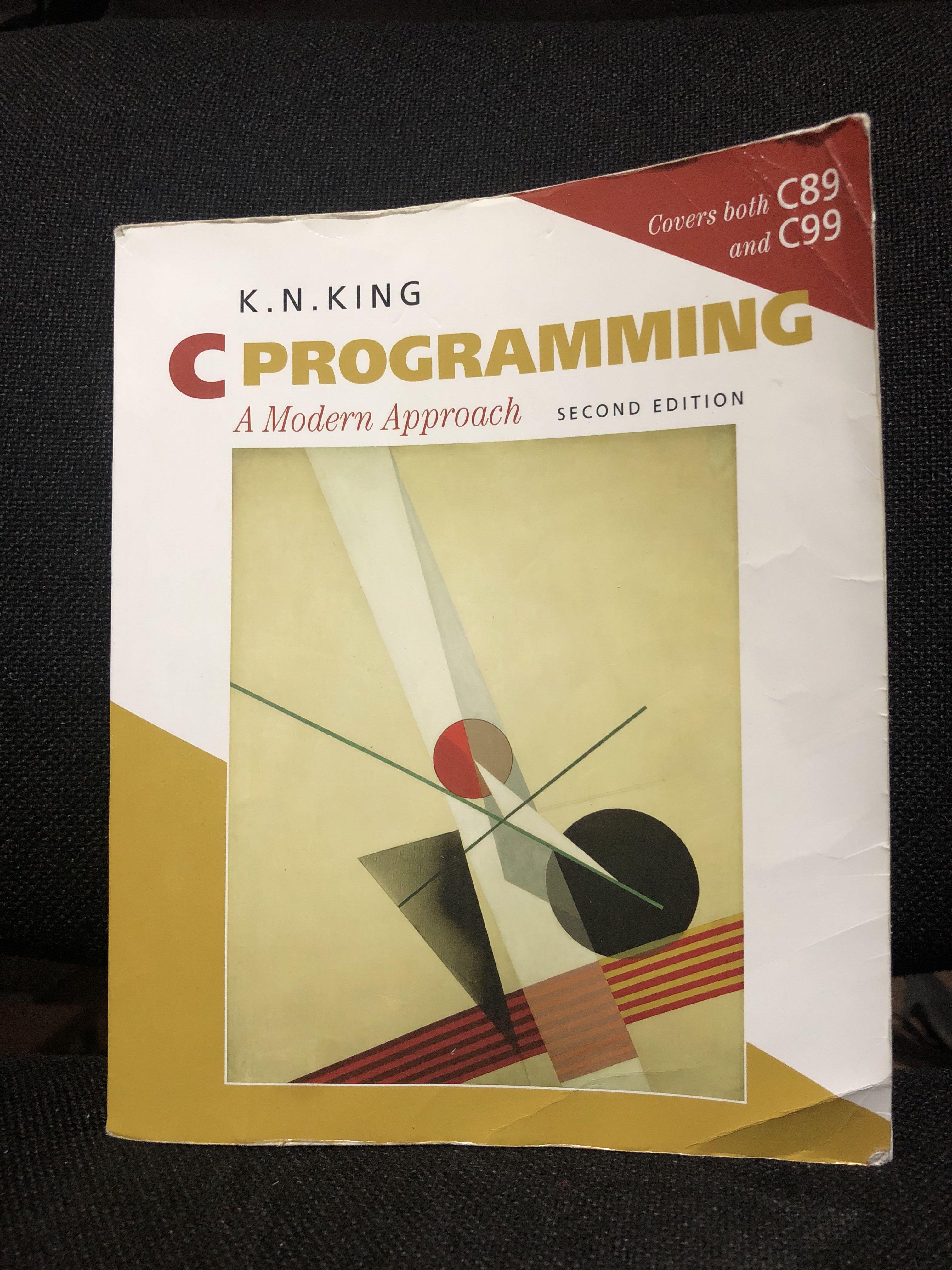 C PROGRAMMING A MODERN APPROACH EBOOK DOWNLOAD