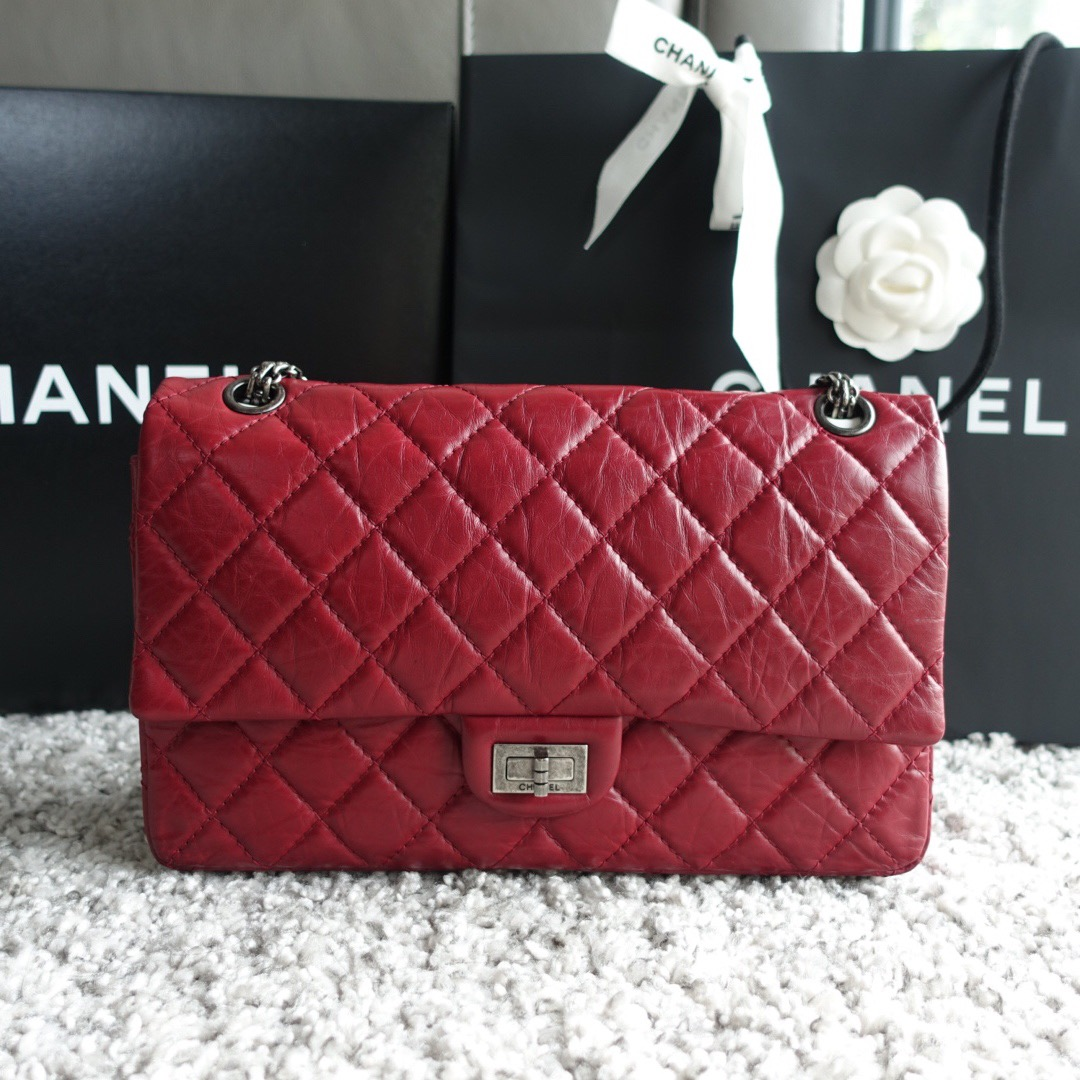 2c8ba0ca123e Chanel Reissue 2.55 226 Red, Luxury, Bags & Wallets, Handbags on ...