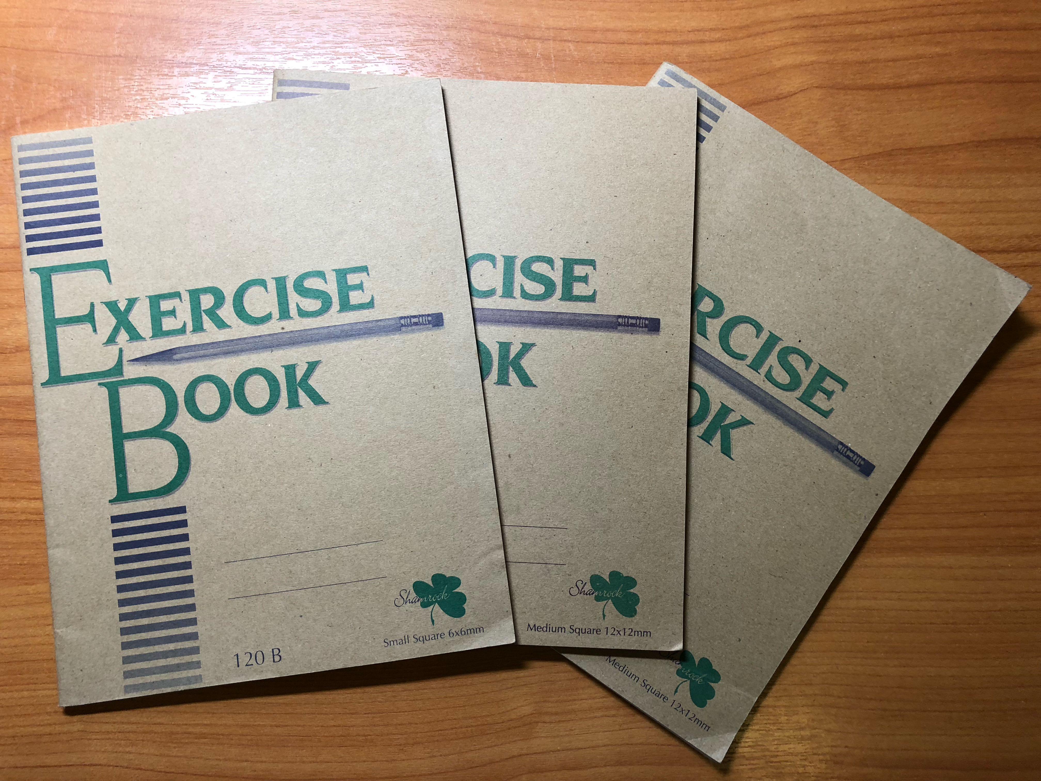 Chinese exercise books, Books & Stationery, Stationery on