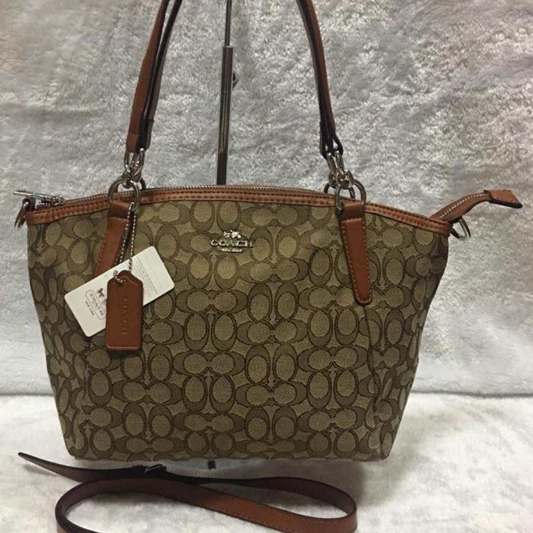 ... order coach signature bag kelsey satchel canvas 2 in 1 crossbody medium  size bag handbag shoulder 4a31c0bc311a4