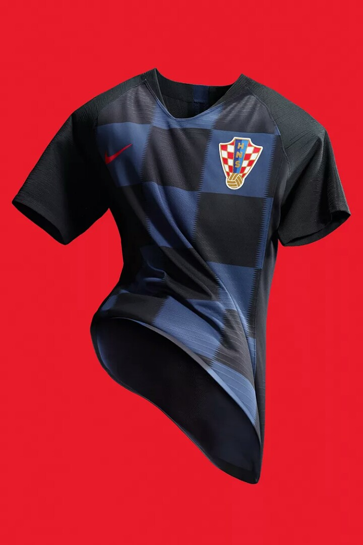 san francisco 76014 1a0cb Croatia Away Authentic World Cup 2018 Jersey (Brand New) Medium Size