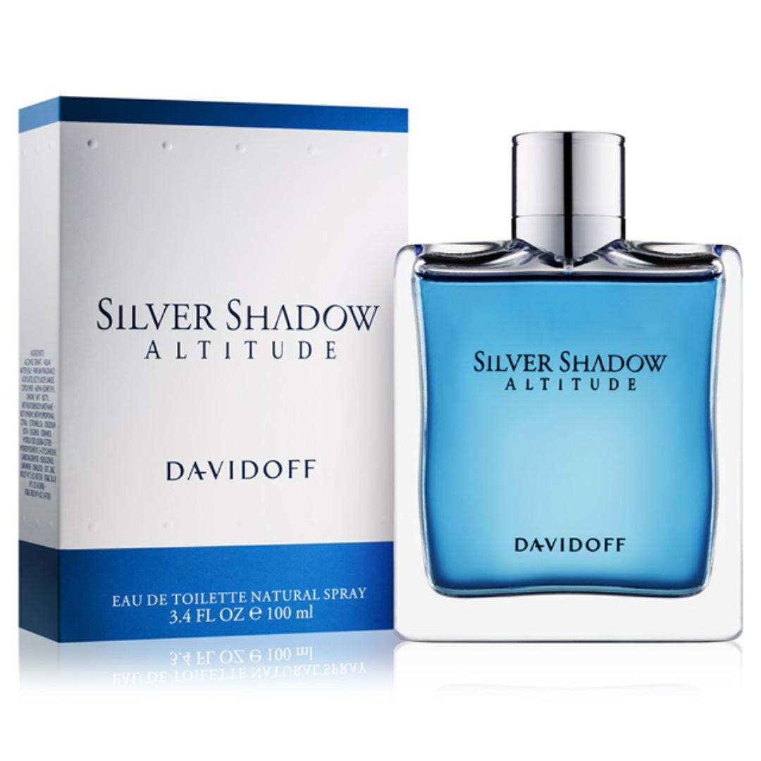 Davidoff Silver Shadow Altitude Edt For Men Health Beauty