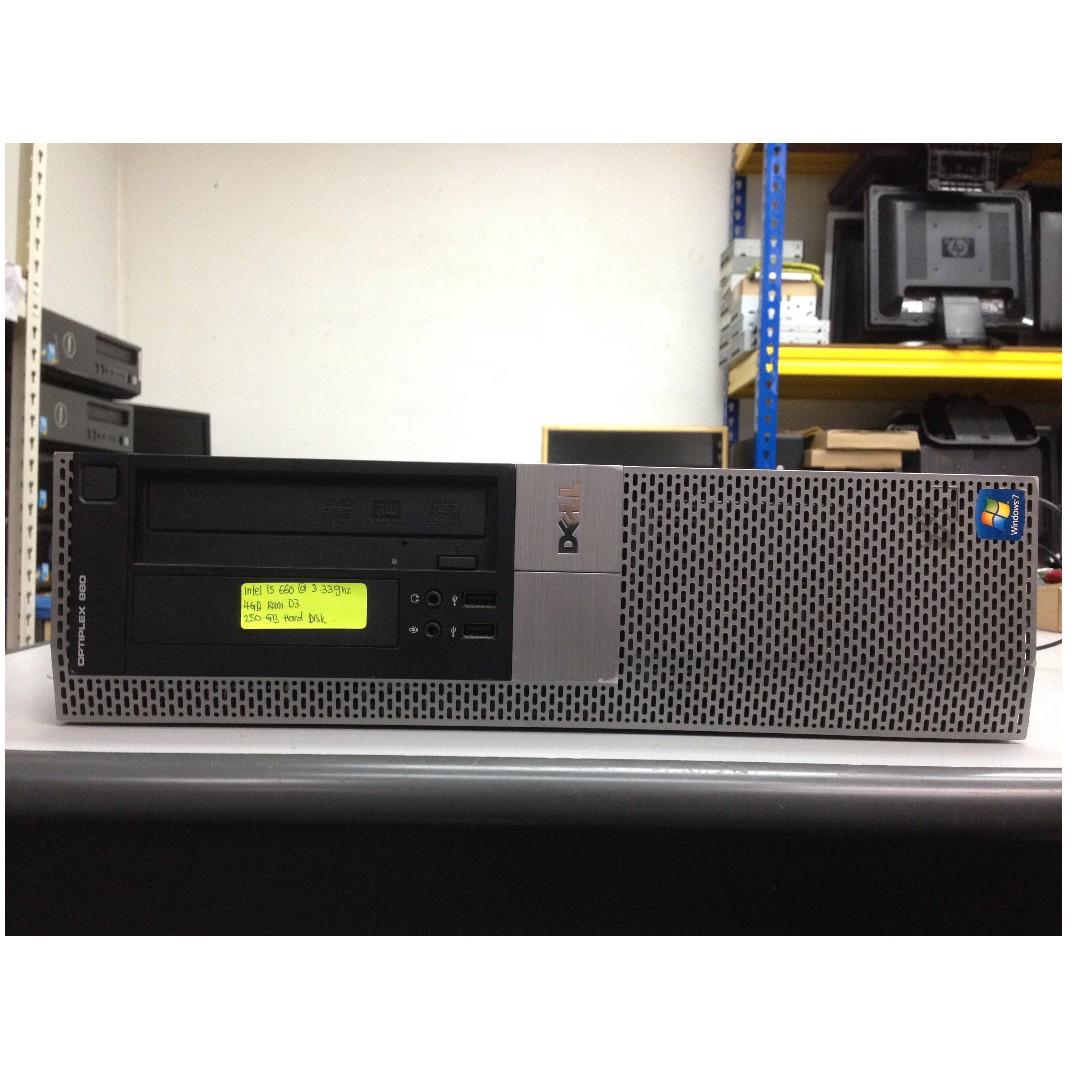 Dell Optiplex 980 SFF PC Intel i5 @ 3 30GHz