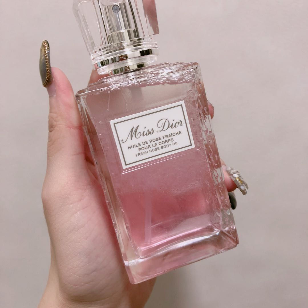 eeadde5634 Dior new collection fresh rose body oil