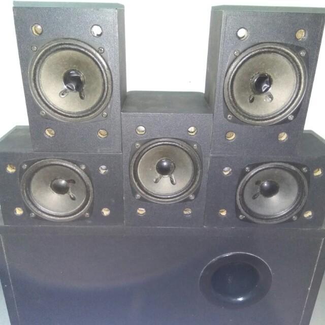 Edifier R501 (5 1 surround sound system) + Free speaker