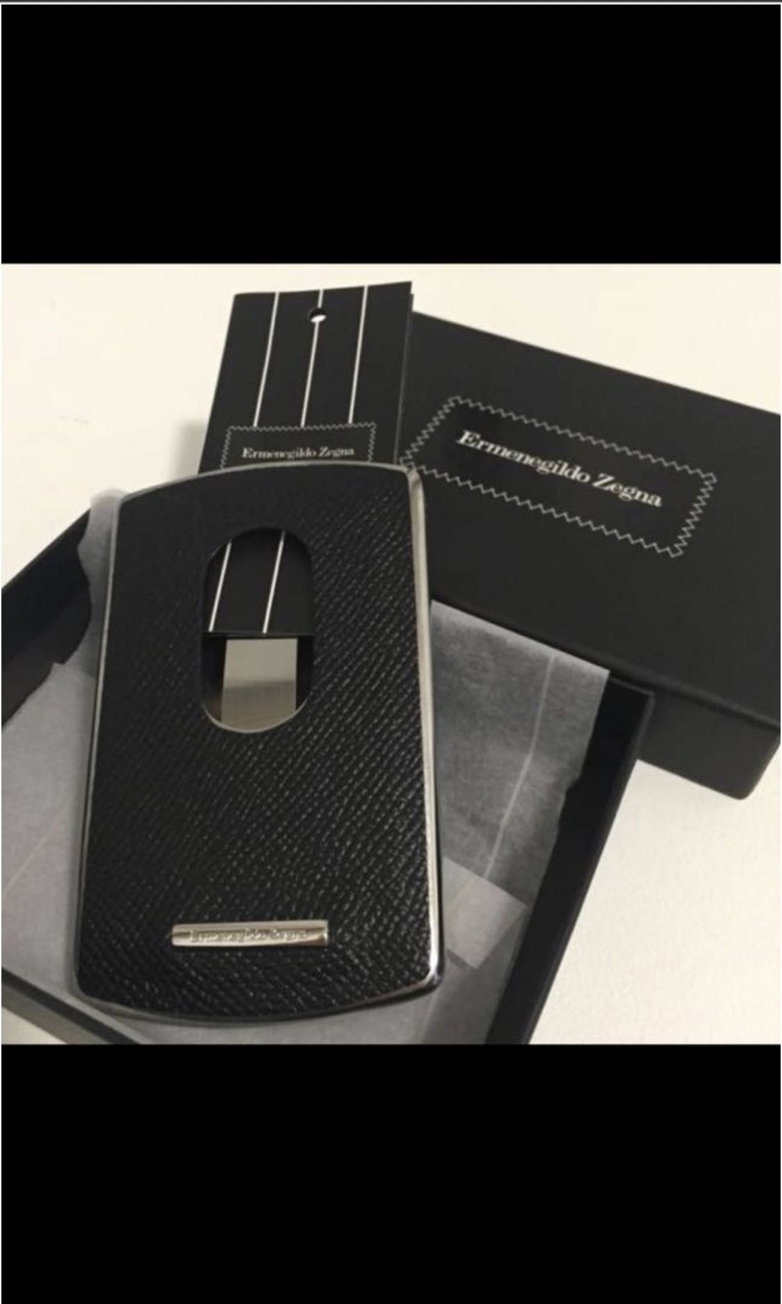 Ermenegildo zegna business and name cardholder stylish design slot ermenegildo zegna business and name cardholder stylish design slot in and slide out business cards brand new unused mens fashion bags wallets reheart Image collections