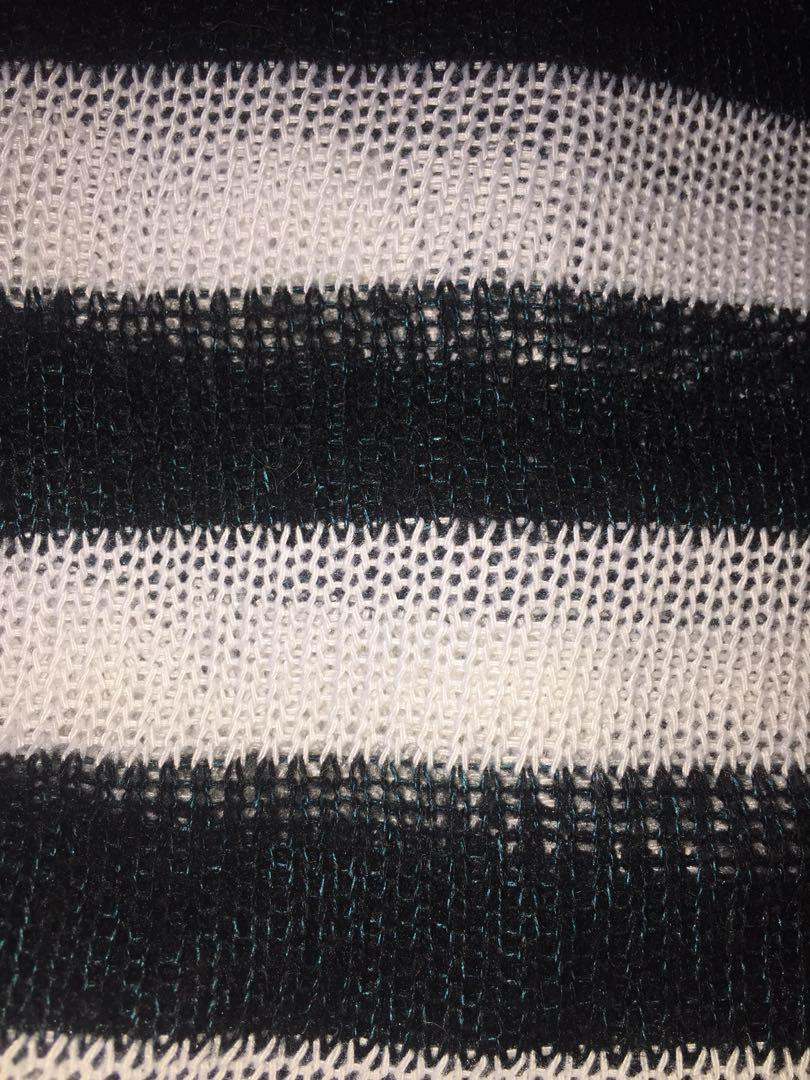 Federation Two-Toned Sheer Knit