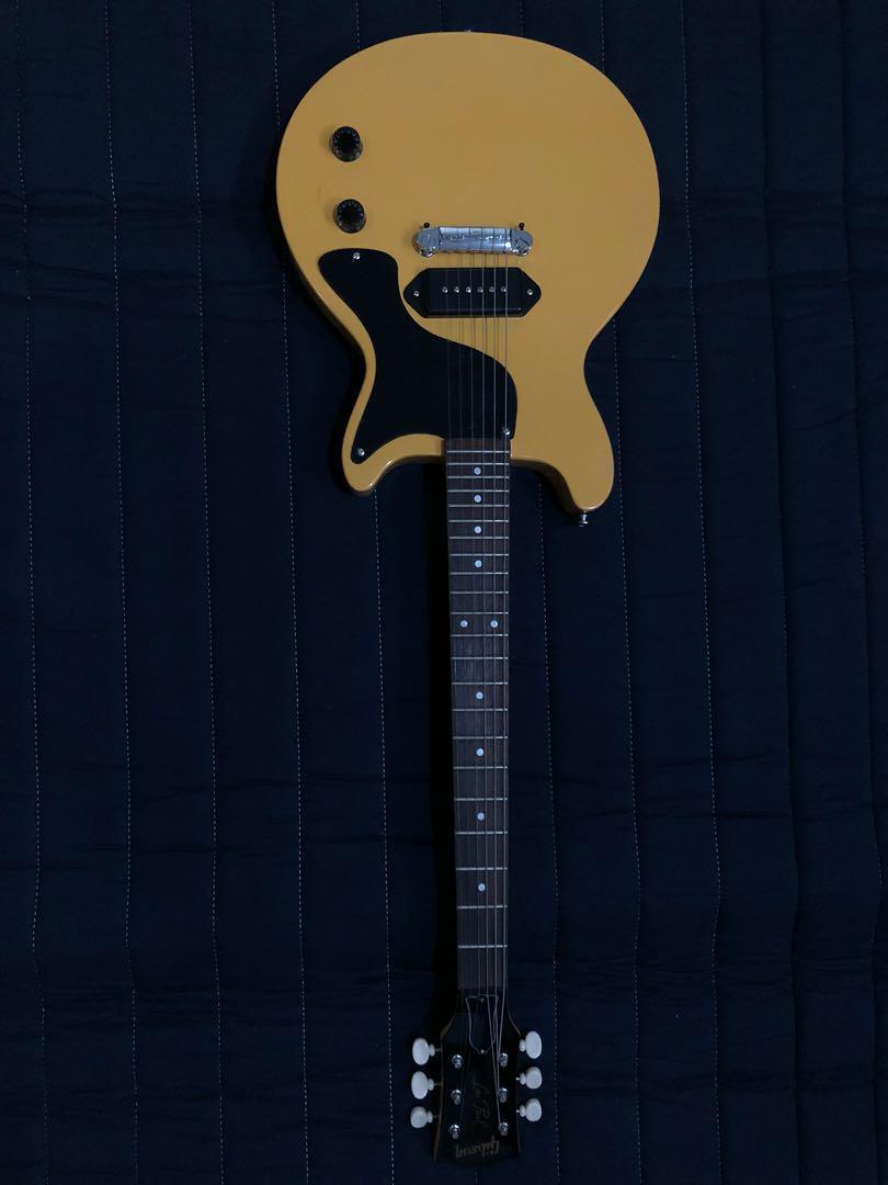 Gibson les paul jr (custom) billie joe armstrong double