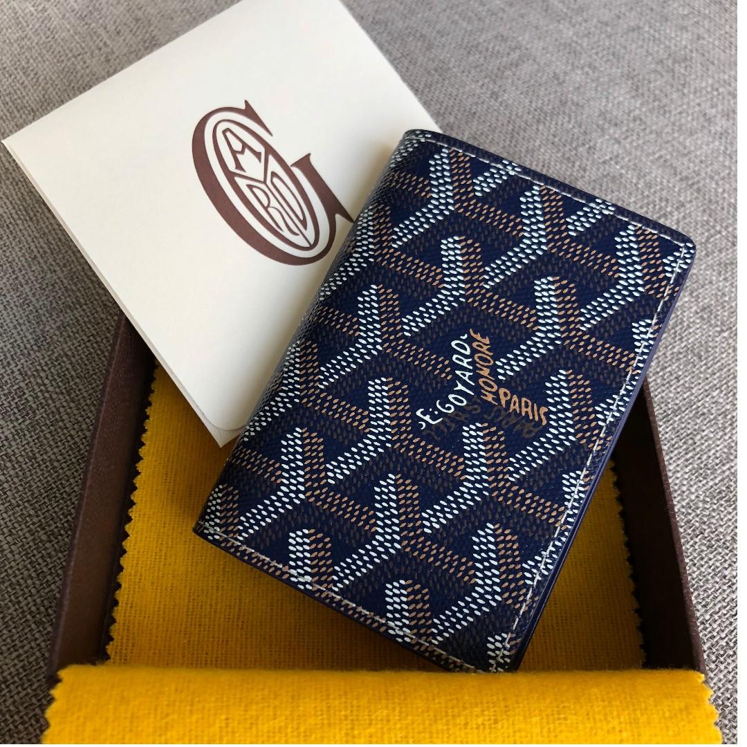 new styles 9ac4e 20da3 Goyard Malesherbes Card Wallet (Goyard Blue)