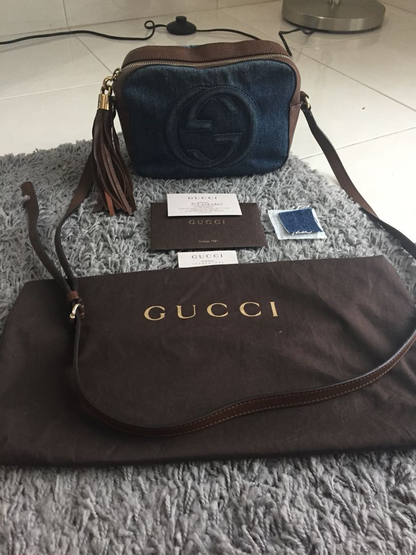 d1d10dc71dc Gucci Soho Disco Bag -Limited Edition