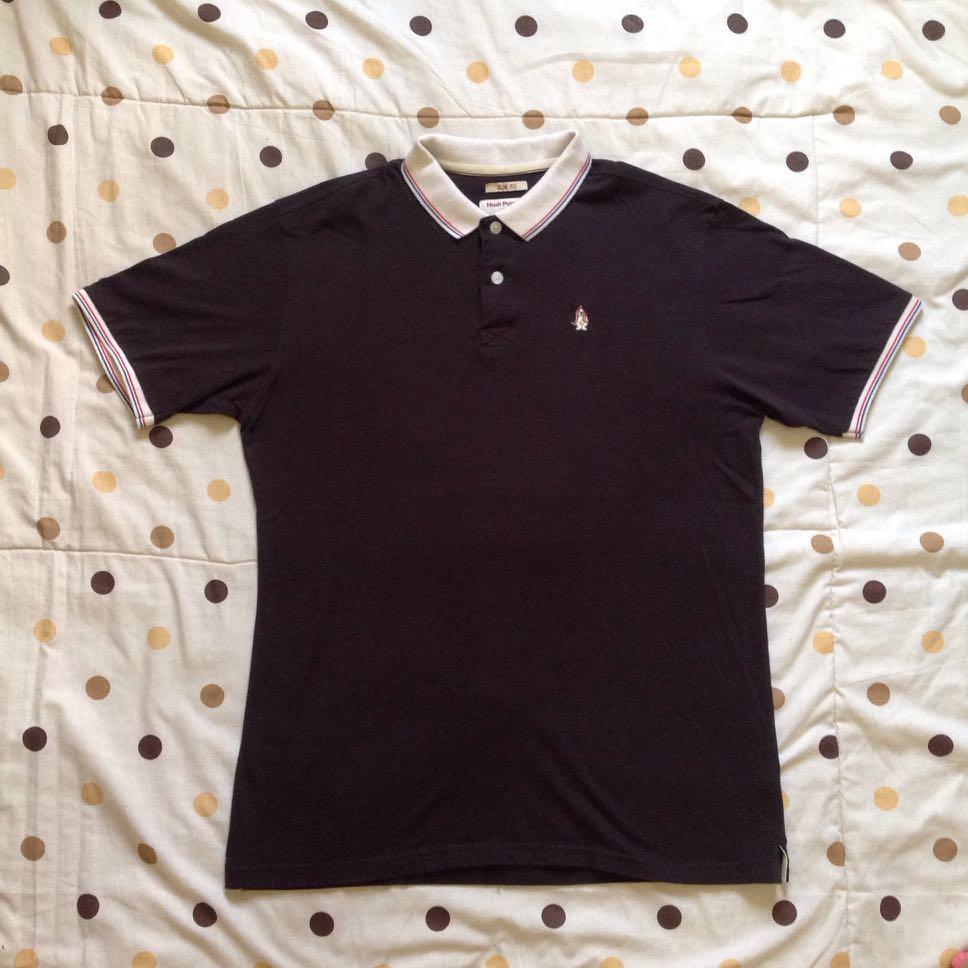87eebbcfc Hush Puppies Black Polo Shirt Original