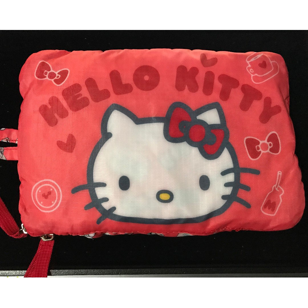 7486ba382 INSTOCK] Sanrio Hello kitty foldable large capacity travel bag ...