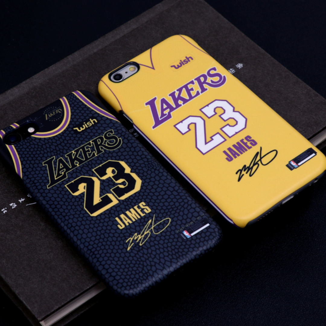 36f544b1fbe Lebron James Lakers Jersey Phone Case