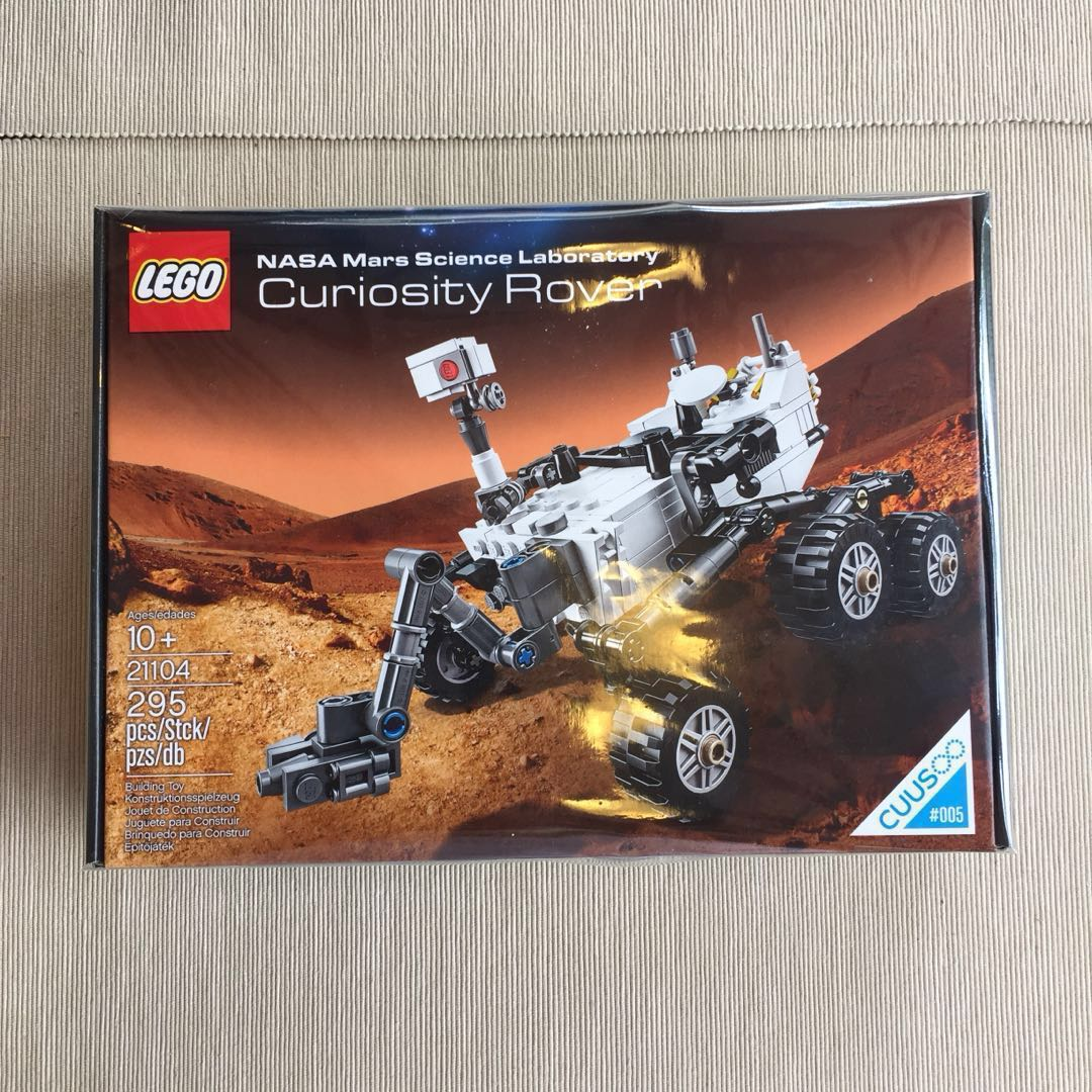 Lego 21104 Cuusoo 5 Curiosity Rover Cello Sealed Toys Games Big Bentley Bust Out 8639 Bricks Figurines On Carousell