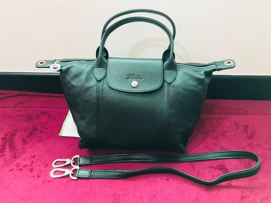 4ace2cfd89d8 Longchamp Leather Bag