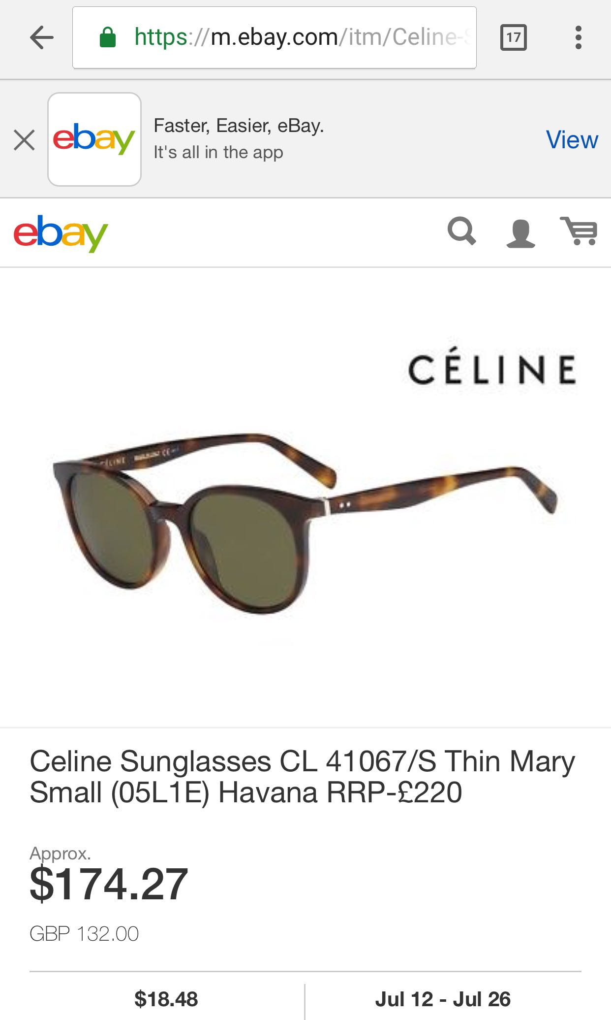 c611ca9af27a Looking for Celine Sunglasses