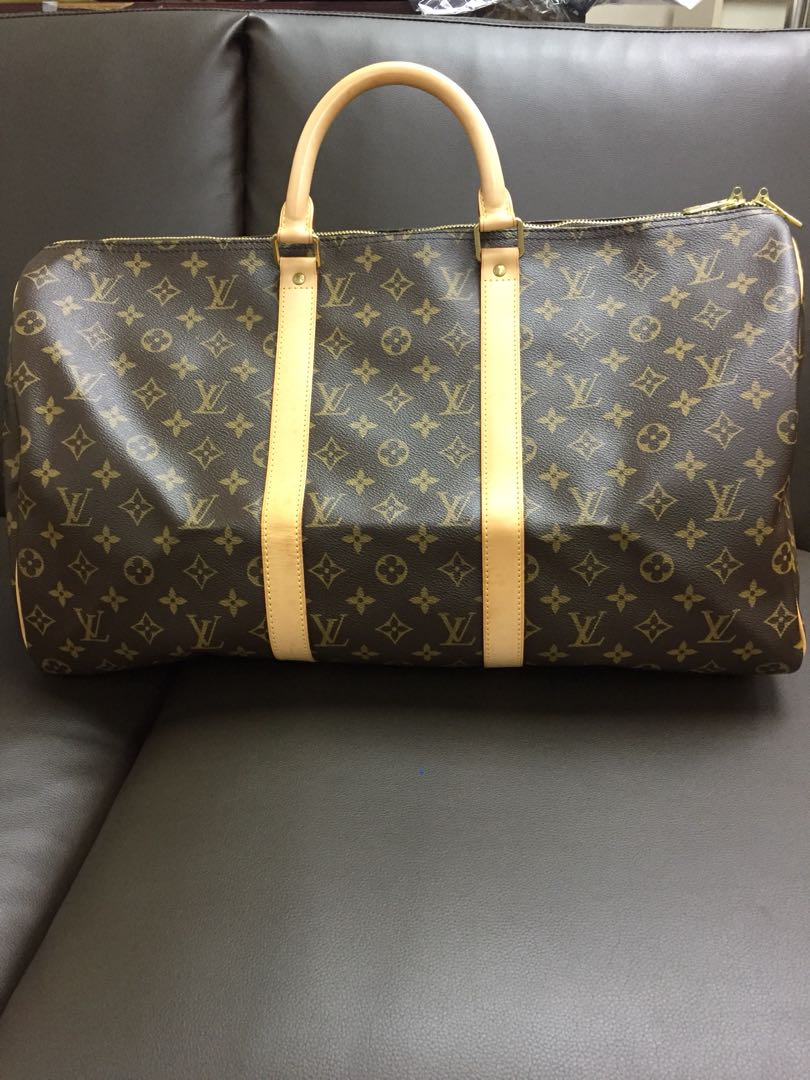 2f38ae4159e7 LV speedy 50 travel bag