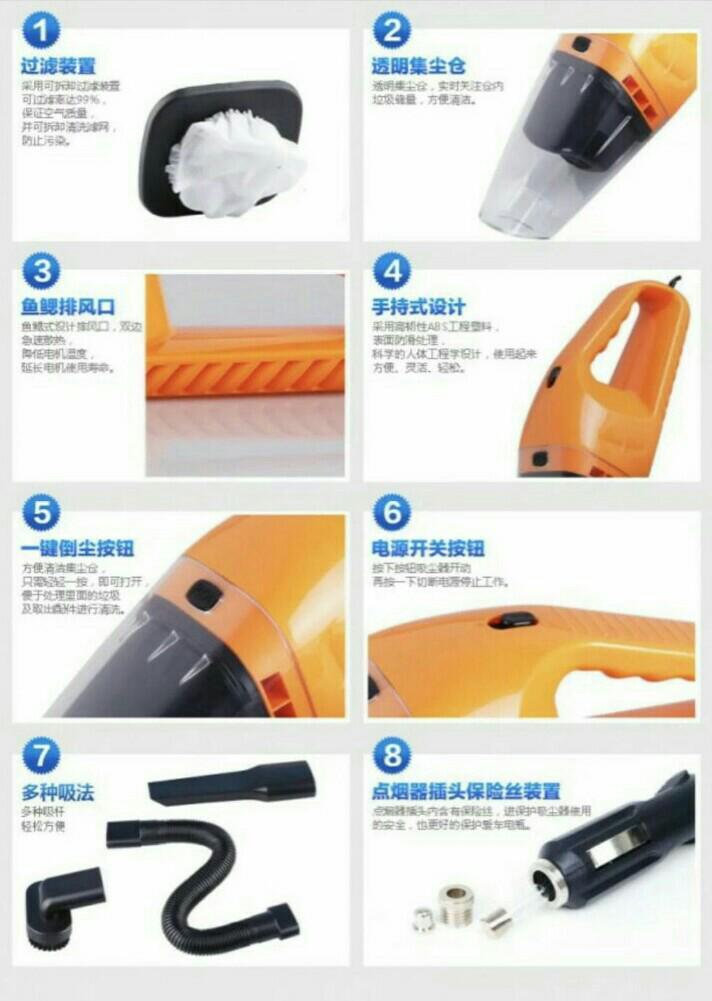 Mini Vacuum Cleaner For Car