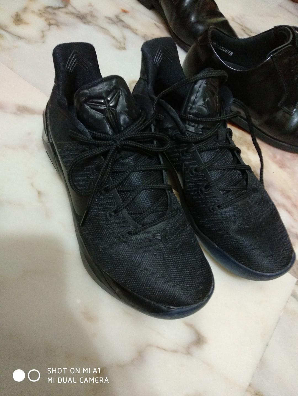 timeless design 3a7e1 a3258 Nike Kobe AD Triple black US 10, Men's Fashion, Footwear ...