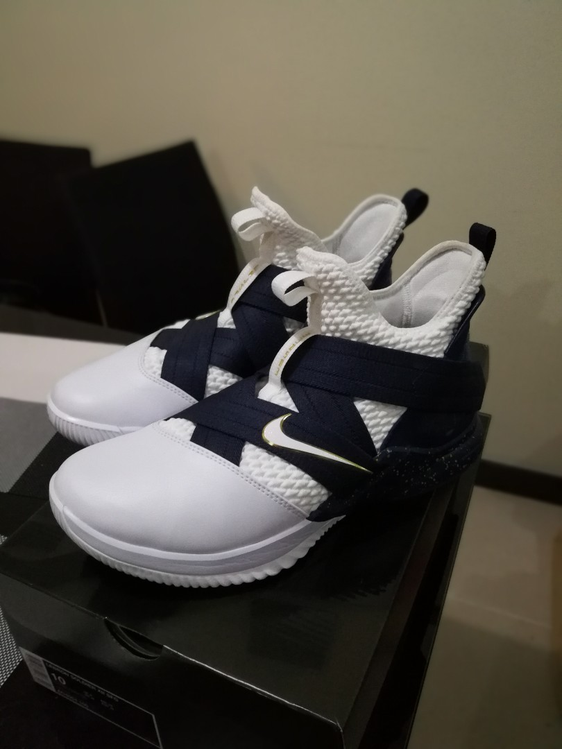 078a3a7a185 Nike Lebron Zoom Soldier 12  Witness  Size 10