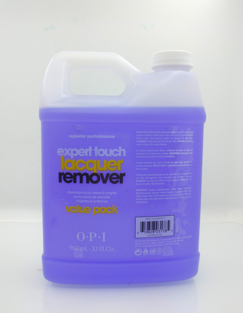 OPI AL417 Expert Touch Nail Remover 洗甲水/ 卸甲水 960ml。1支199。4支640