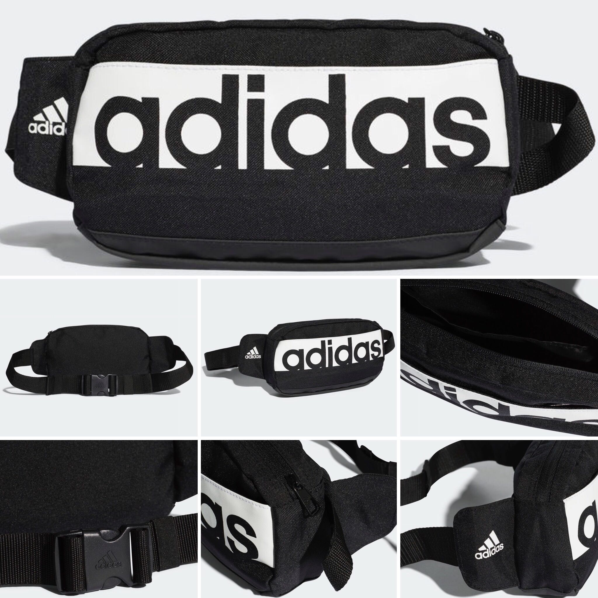 ad9b2bc4c767 ORIGINAL ADIDAS LINEAR PERFORMANCE WAIST BAG (real picture on the ...