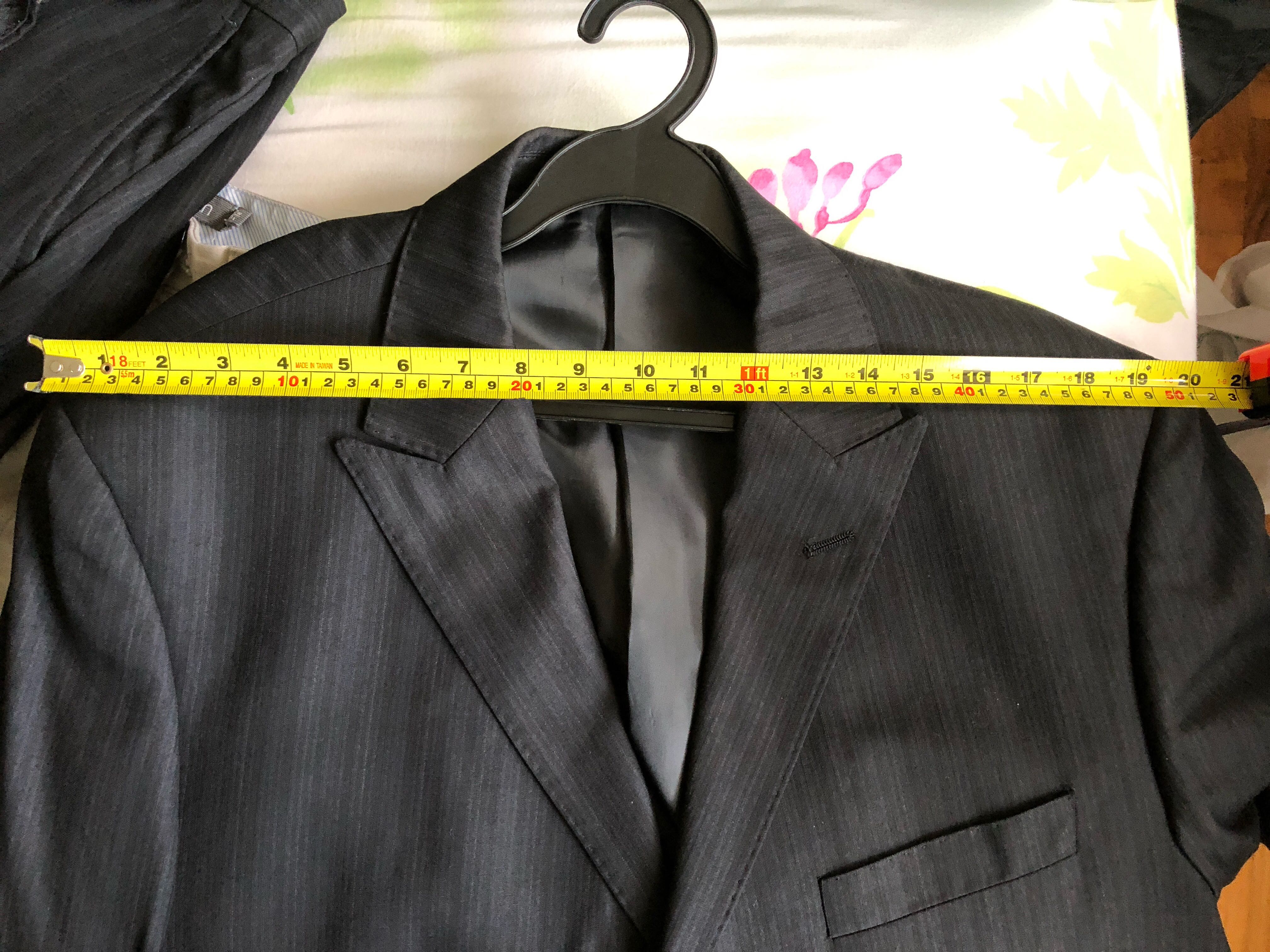 19920a4f65 Price revised: BN Men suit, Men's Fashion, Clothes, Outerwear on Carousell