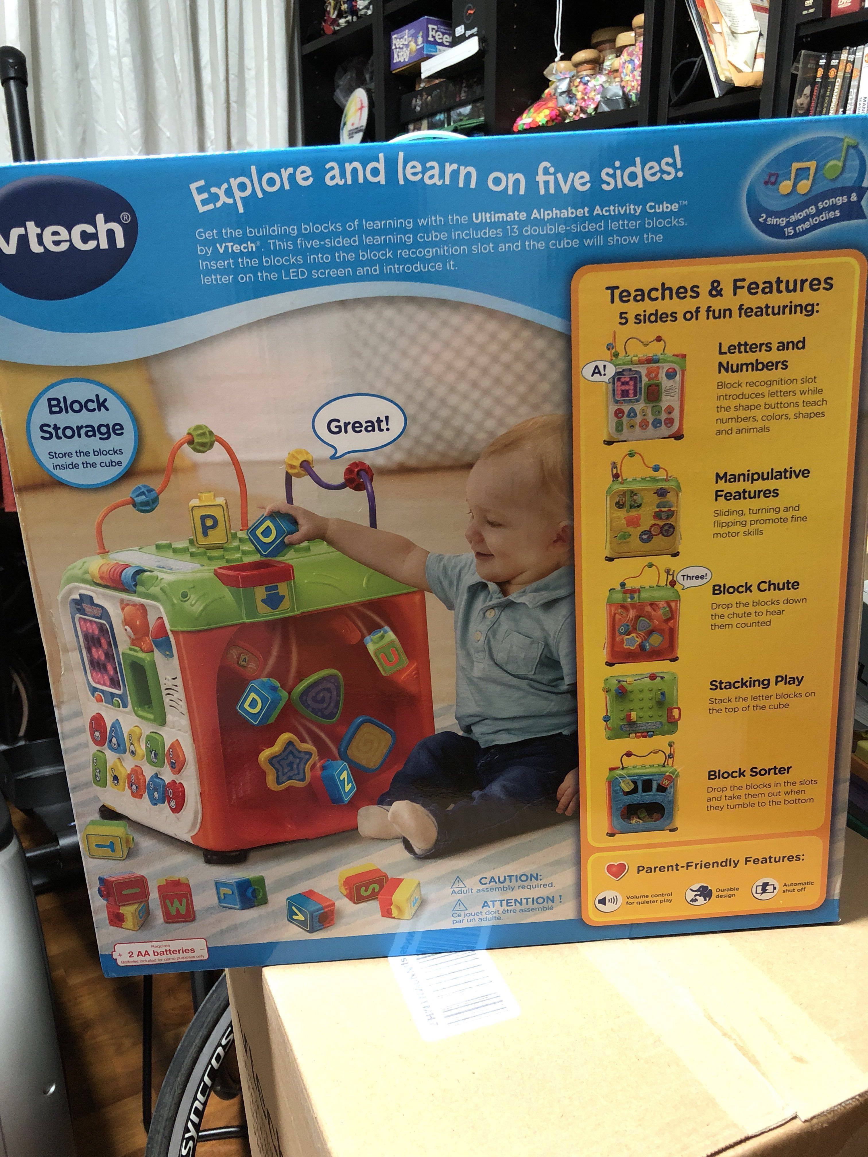 Vtech Ultimate Alphabet Activity Cube Toys R Us Best Of Alphabet